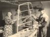 In der Werkstatt 1959